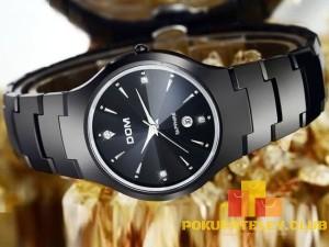 мужские эксклюзивные наручные часы dom модель w-698